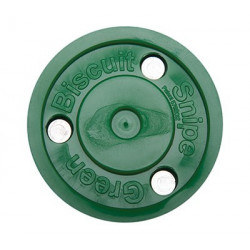 Green Buiscuit SNIPE Puck para roller hockey