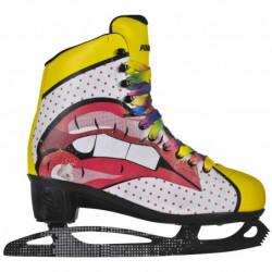Powerslide Pop Art Blondie ricreativi pattini da ghiaccio per donne - Senior