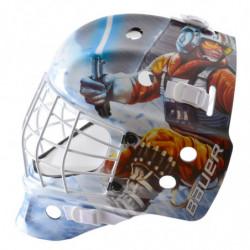 """Bauer NME Street Star Wars """"Luke"""" casco portiere per hockey - Youth"""