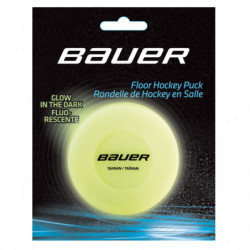 Bauer Glow in the Dark Puck Hockey