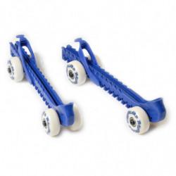 Base protector de cuchillas de patines (con ruedas)