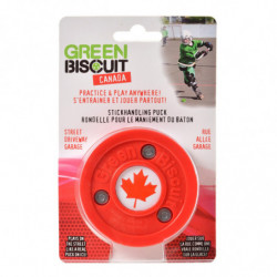 Green Biscuit  Puck para roller hockey