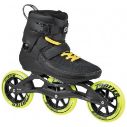 Powerslide Swell Trinity Black Road 125 patines fitness - Senior