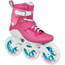 Powerslide Swell Trinity Flamingo 125 patines fitness - Senior