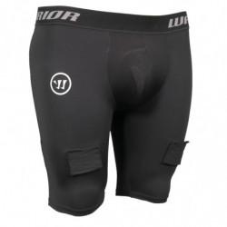 Warrior Nutt Hutt Compression breve pantaloni con conchiglia per hockey - Youth