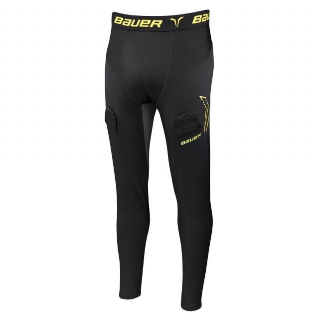 Bauer Compression larghi pantaloni con conchiglia per hockey - Senior