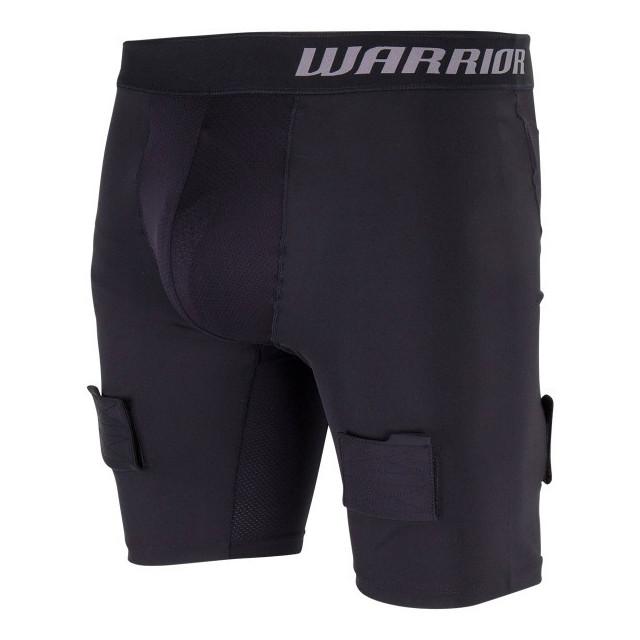 Warrior Compression breve pantaloni con conchiglia per hockey - Senior