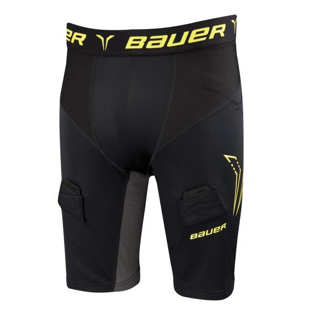 Bauer Compression pantaloni con conchiglia per hockey - Senior