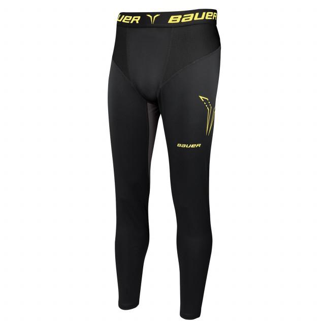 Bauer Premium Compression larghi pantaloni con conchiglia per hockey - Senior