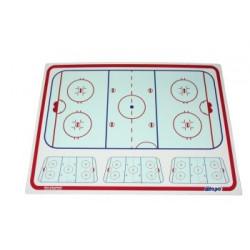 Blue Sports Pizarra Tactica hockey entrenador - 112 x 81 cm - 4 mm